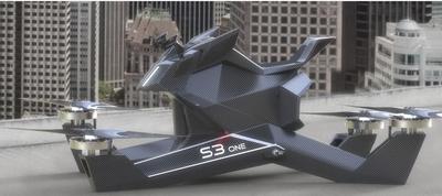 空飛ぶバイクS3one