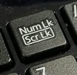 NumLockキー