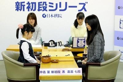 黒嘉嘉対中邑菫新初段シリーズ
